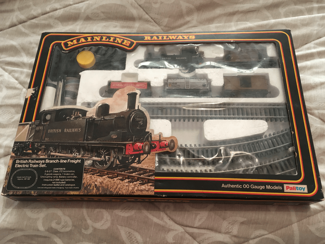 Shrink-Proof Collectables Hard-Working A Selection Of 00 Gauge Wagons Unboxed Model Railways & Trains