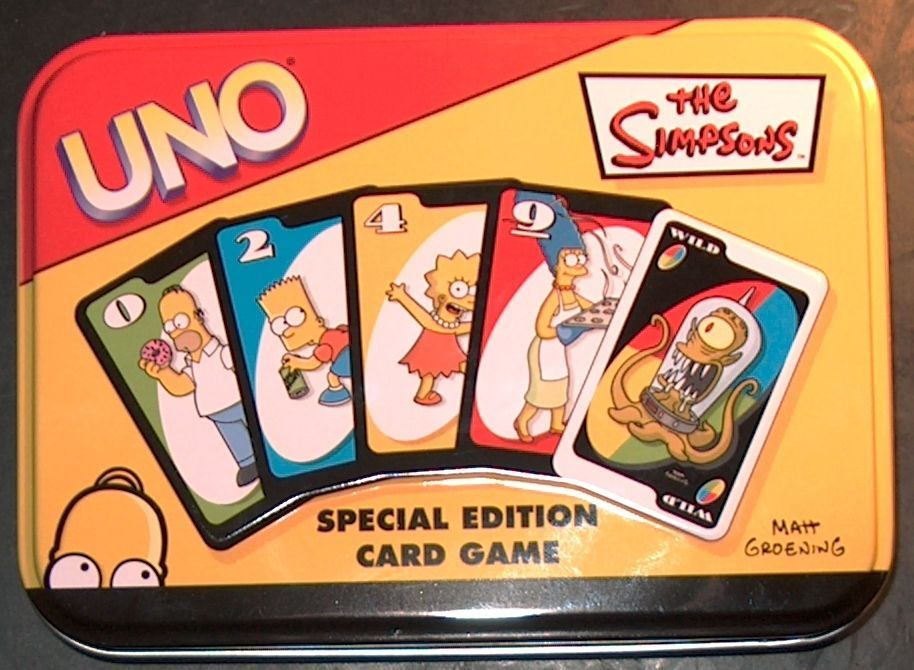 UNO: The Simpsons – Special Edition Card Game