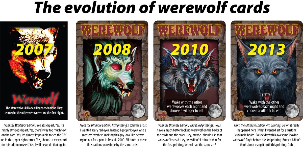 Werewolf Game All Roles