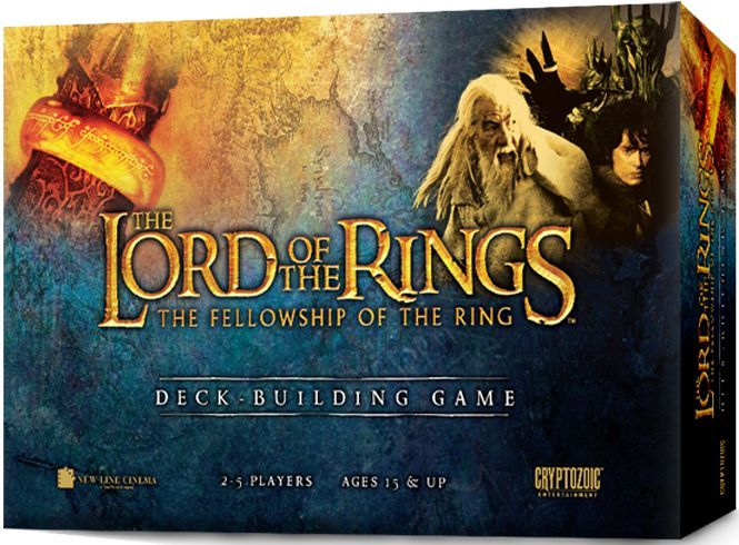 Main image for The Lord of the Rings: The Fellowship of the Ring Deck-Building Game