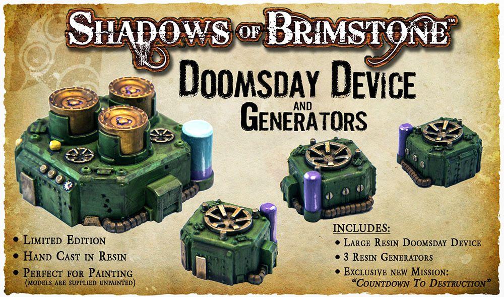 Shadows of Brimstone: Doomsday Device and Generators
