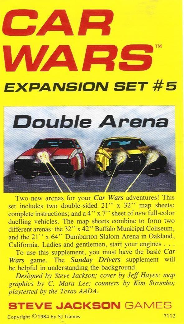 Car Wars Expansion Set #5, Double Arena