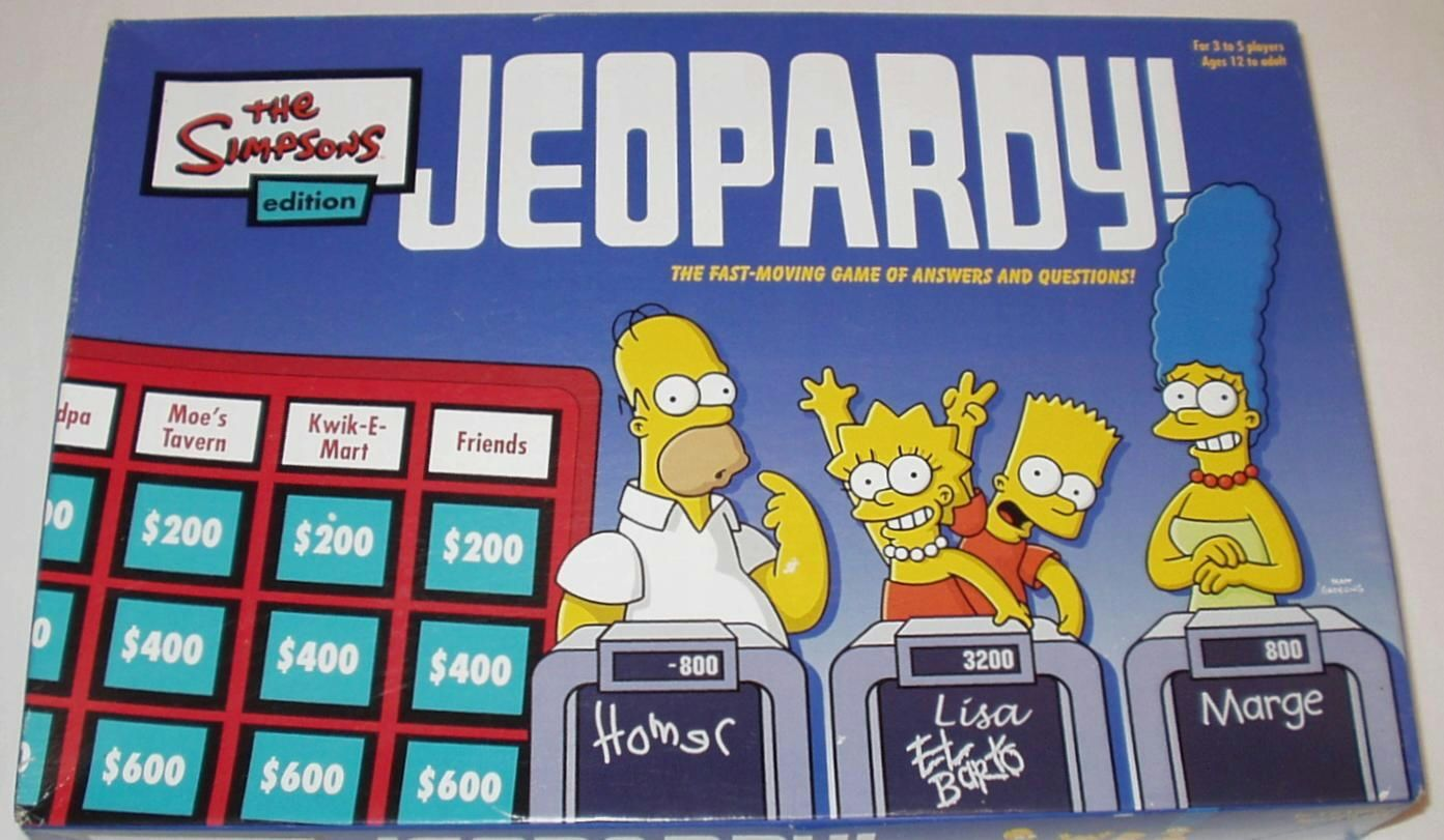 Jeopardy! Simpsons Edition