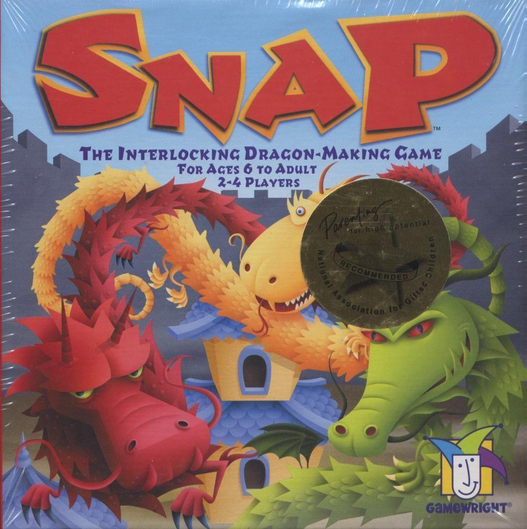 Snap: The Interlocking Dragon-Making Game