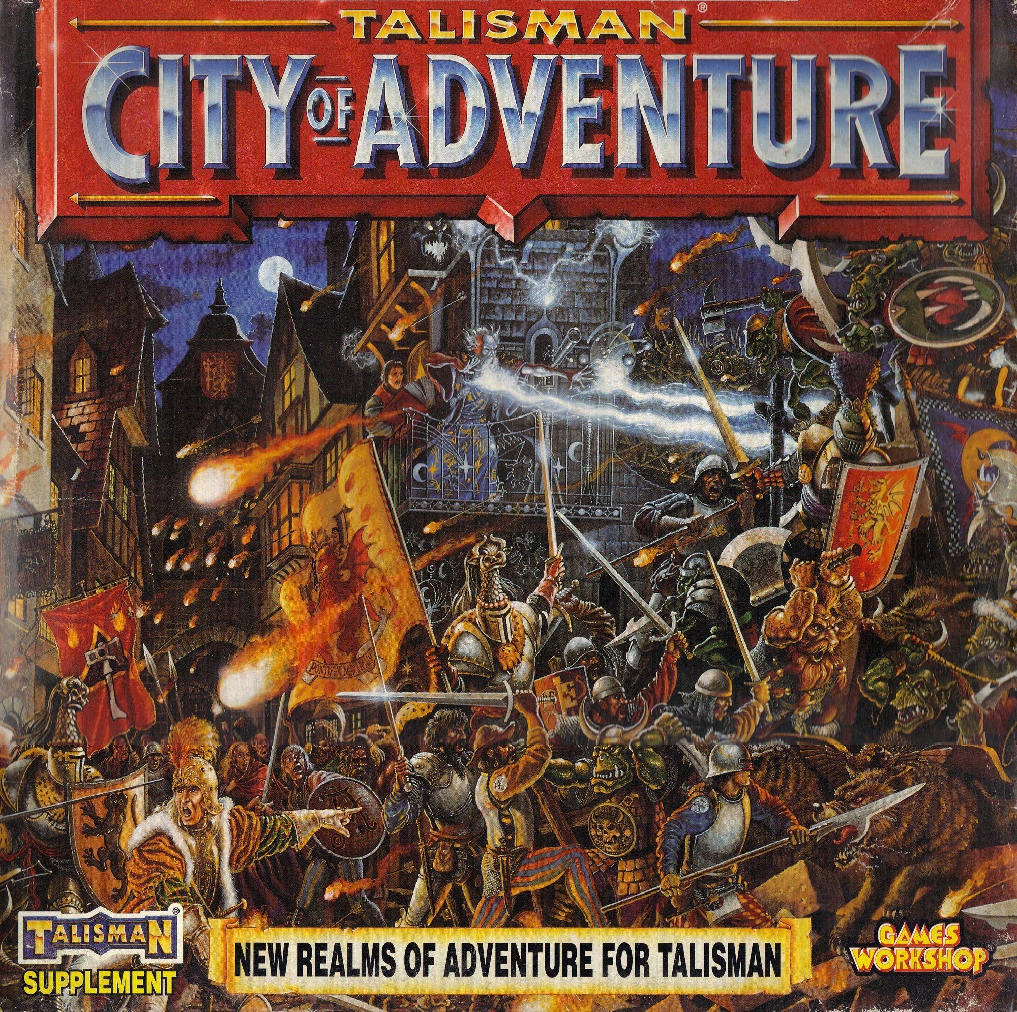 Talisman (third edition): City of Adventure