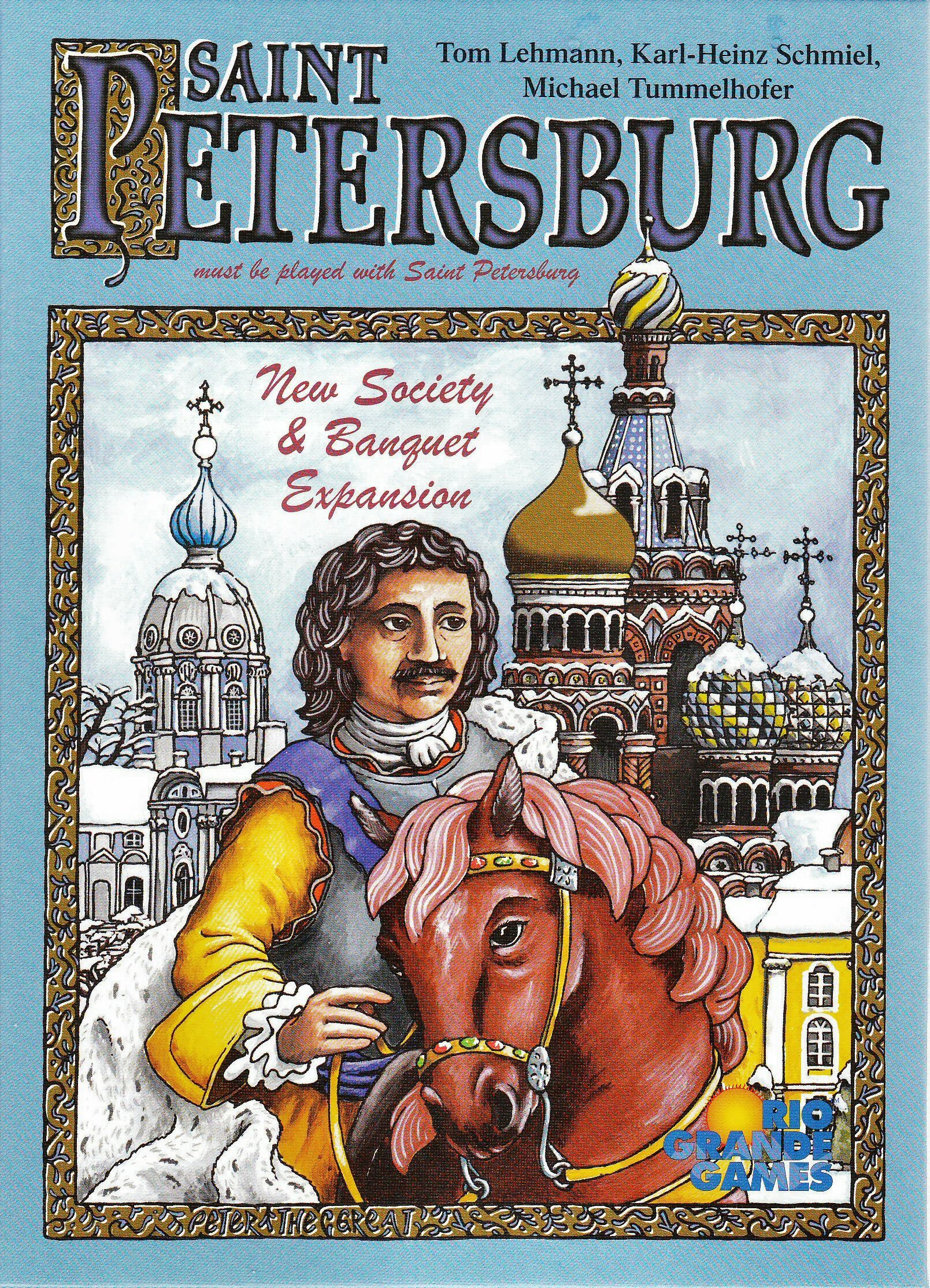 Saint Petersburg: New Society & Banquet Expansion