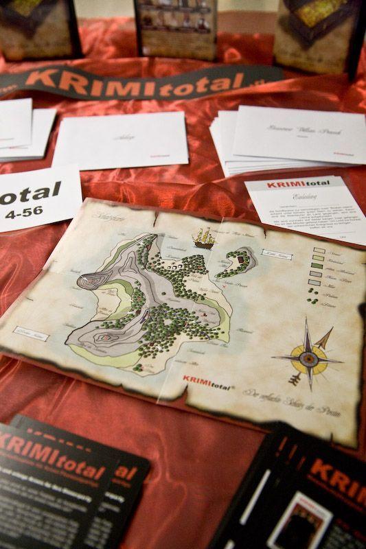 Krimi Total Fall 6: Der verfluchte Schatz der Piraten