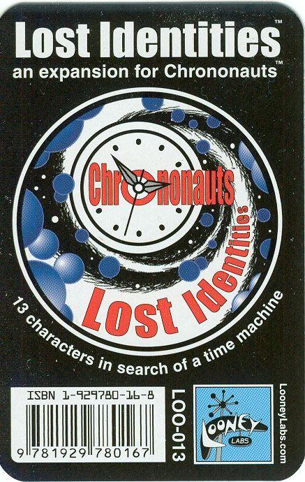 Chrononauts: Lost Identities