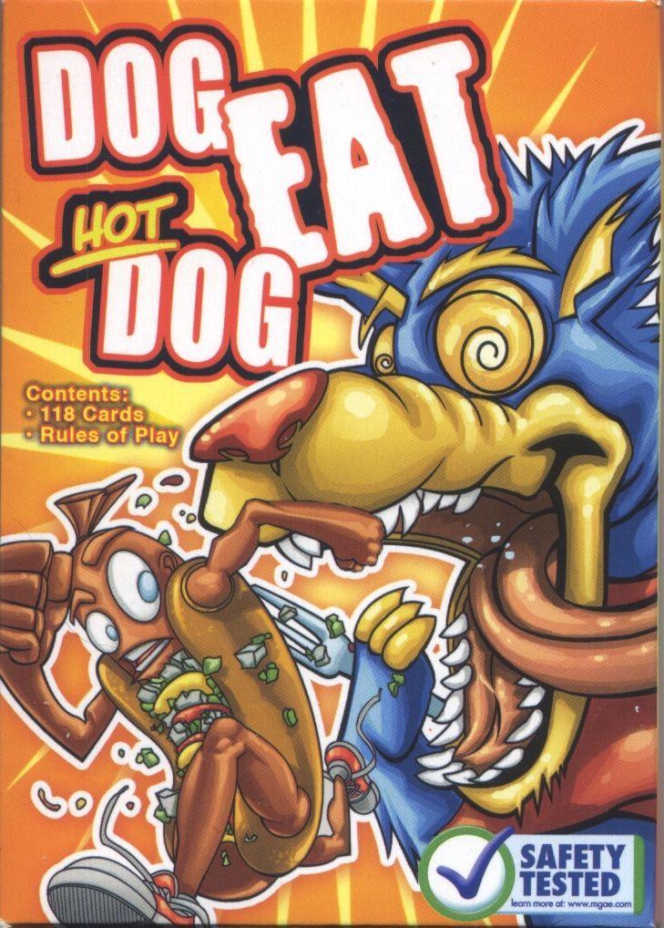 Dog Eat Hot Dog