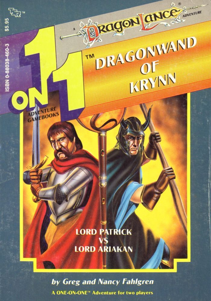 1 on 1 Adventure Gamebooks: The Dragonwand of Krynn