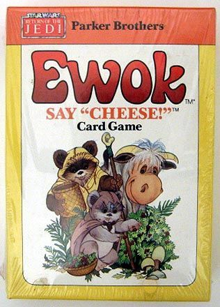 "Say ""Cheese!"" The EWOK Picture-Puzzle Card Game"