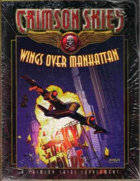 Crimson Skies: Wings Over Manhattan