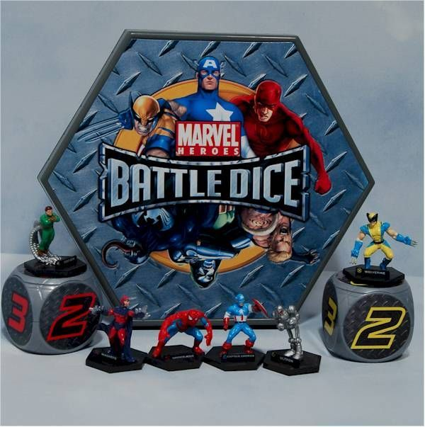 Marvel Heroes Battle Dice