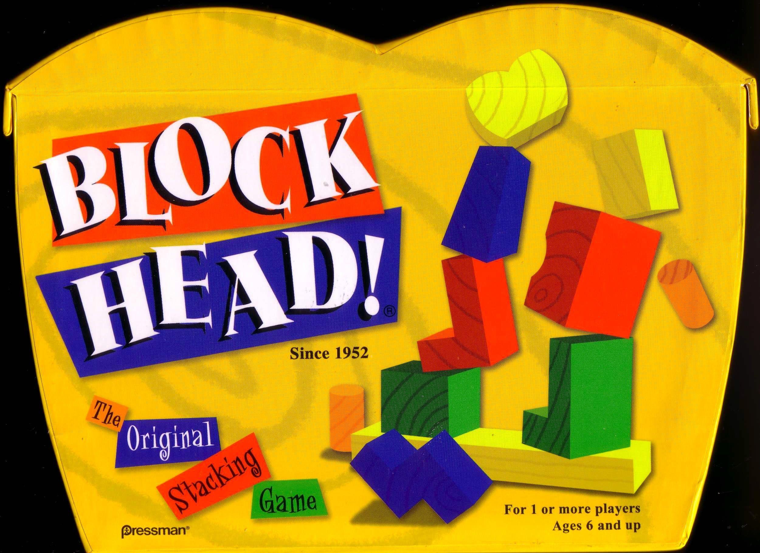 Blockhead!