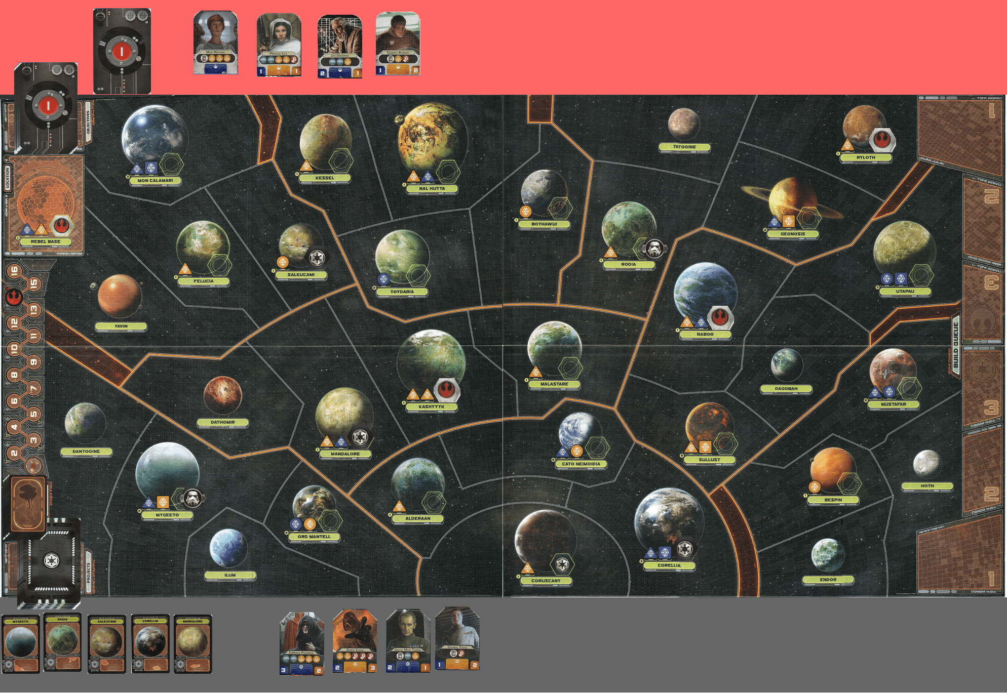 Star Wars: Rebellion PBF 038 - With rapturous applause