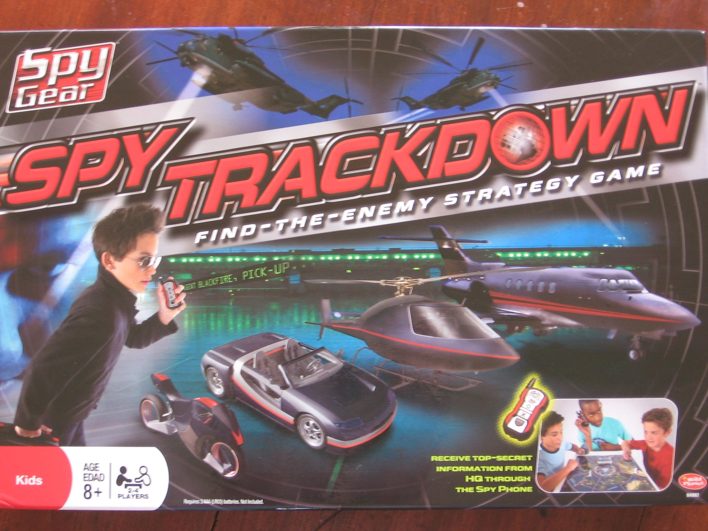 Spy Gear: Spy Trackdown