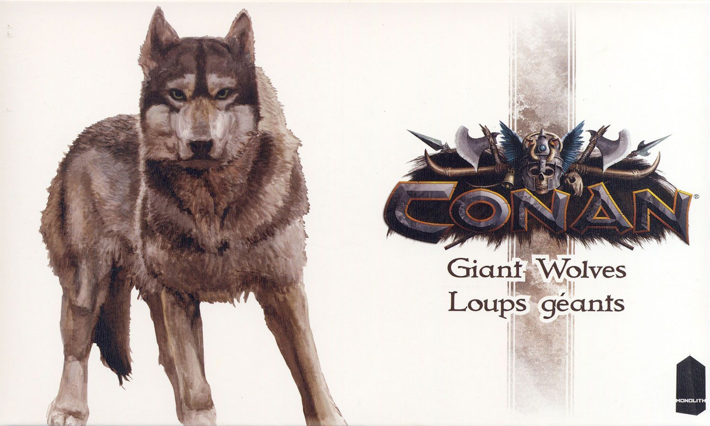 Conan: Giant Wolves
