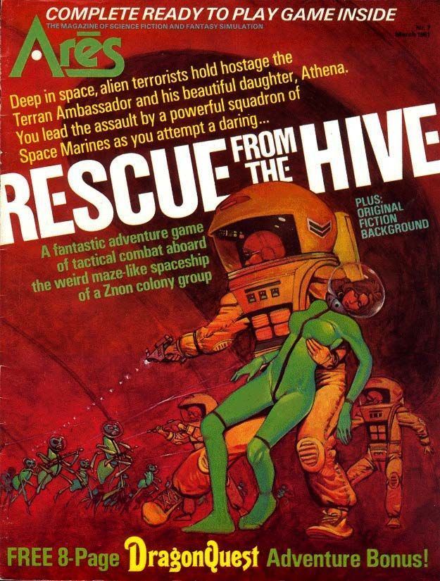Rescue from the Hive