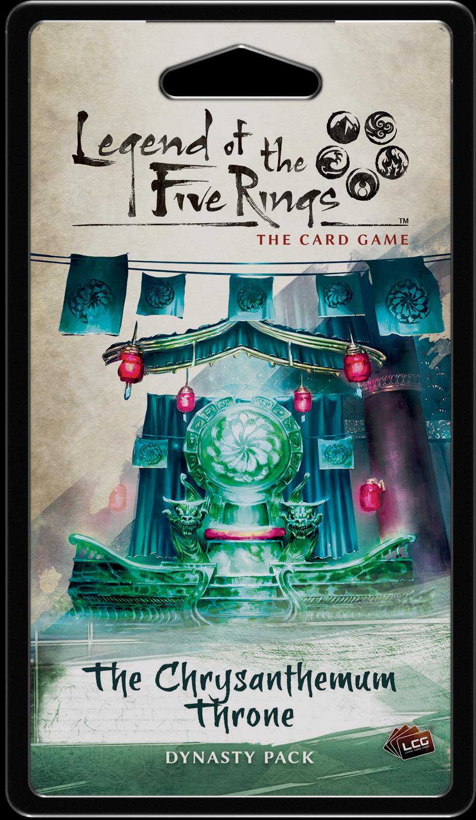 Legend of the Five Rings: Das Kartenspiel – Der Chrysanthementhron