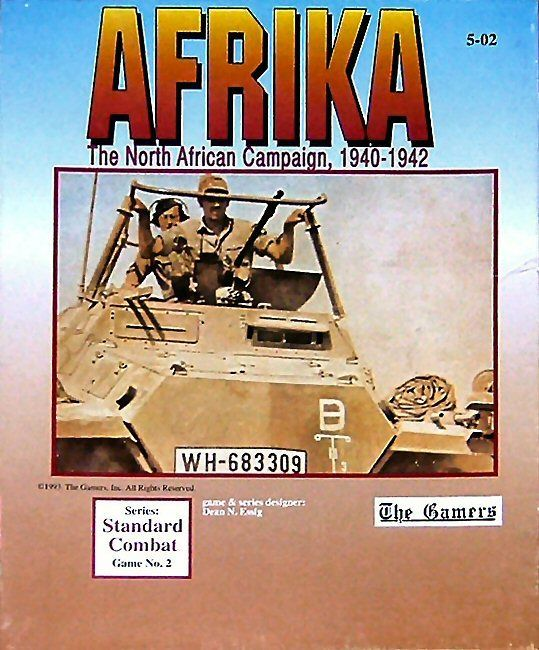 Afrika: The Northern African Campaign, 1940-1942 (1st edition)