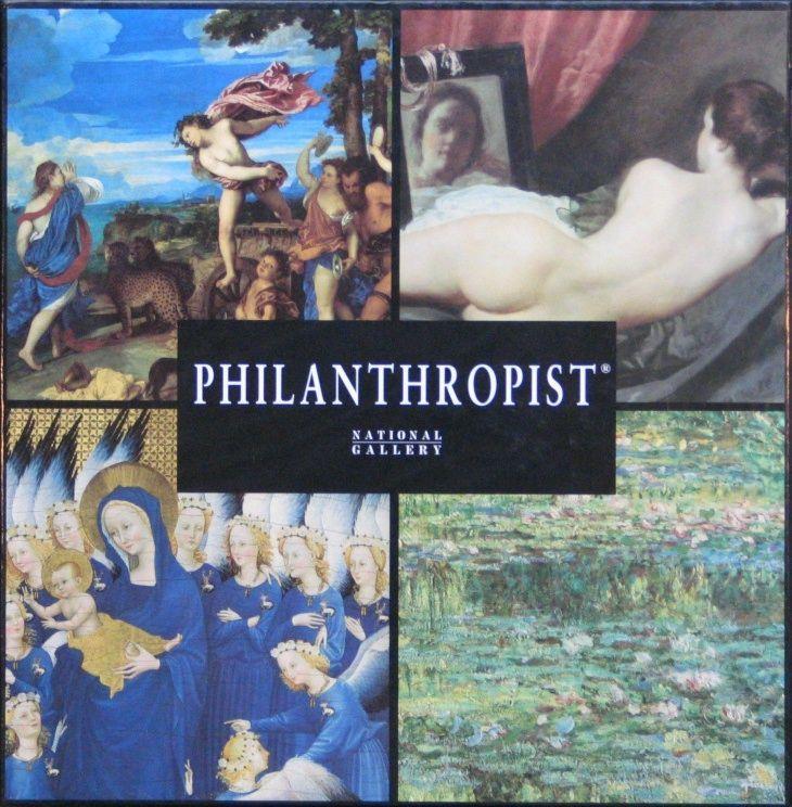 Philanthropist: The National Gallery, London