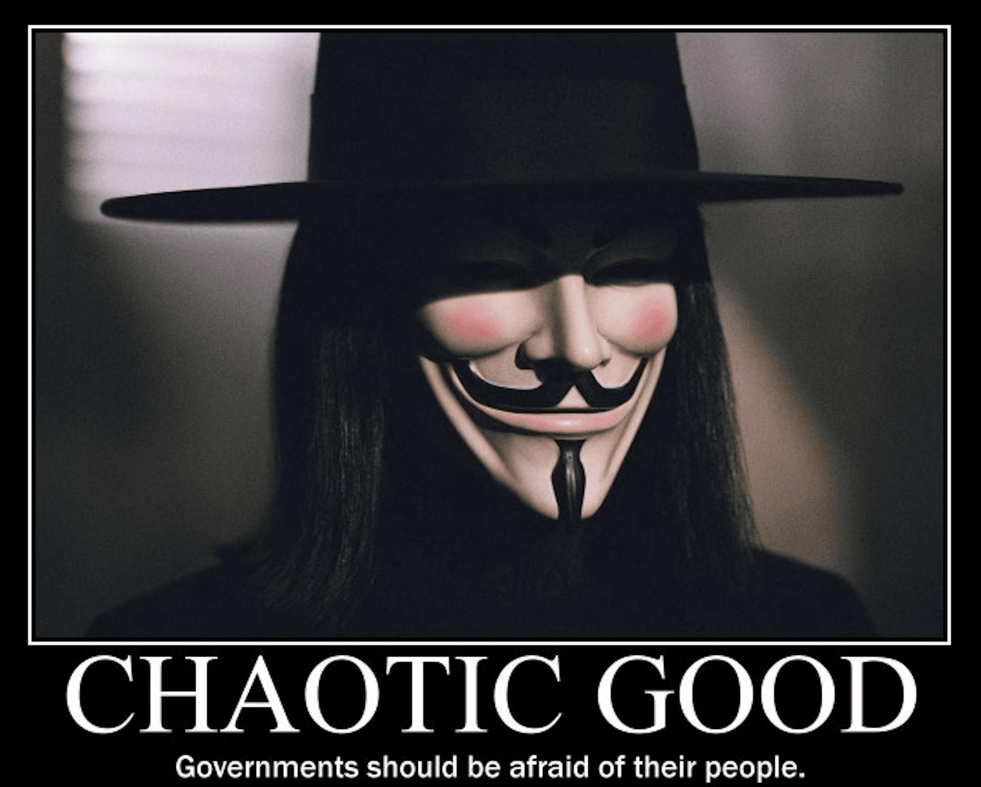 Top 5 - Sistema de Alinhamento: Chaotic Good Pic4033058