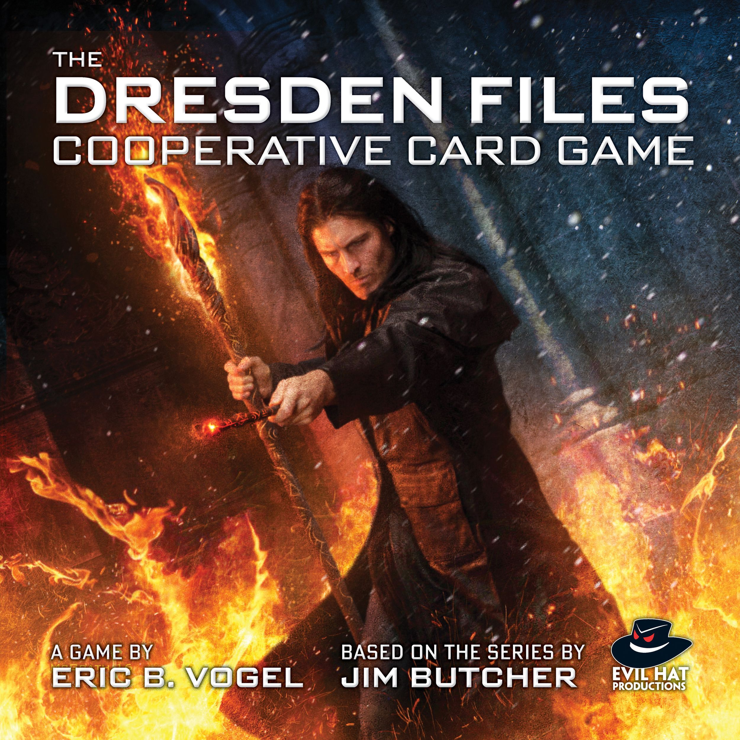 Main image for The Dresden Files Cooperative Card Game