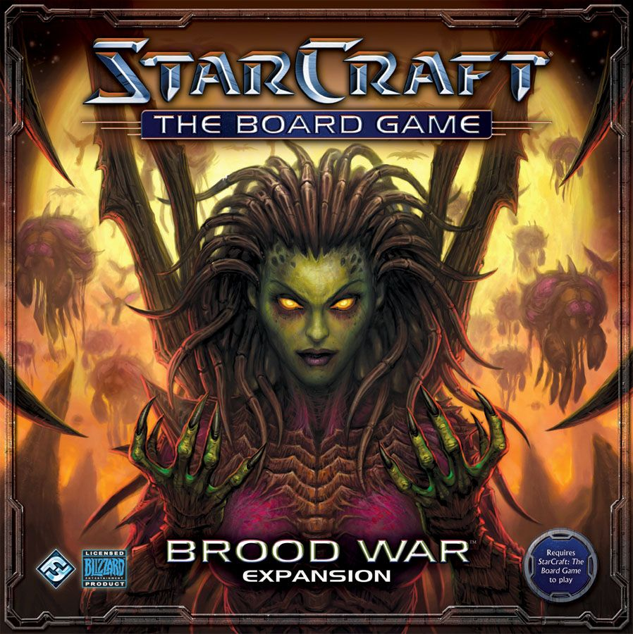 StarCraft: The Board Game – Brood War Expansion