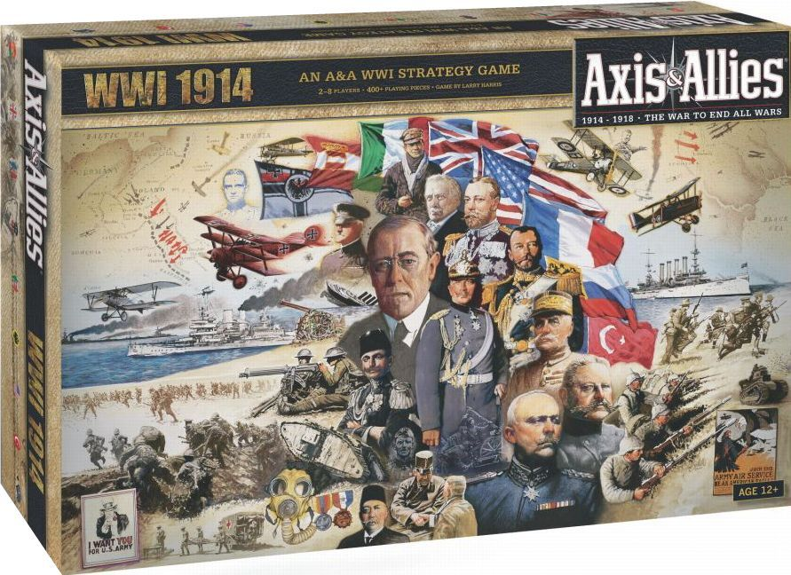Main image for Axis & Allies: WWI 1914 board game