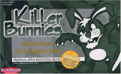 Killer Bunnies and the Quest for the Magic Carrot: Ominous Onyx Booster