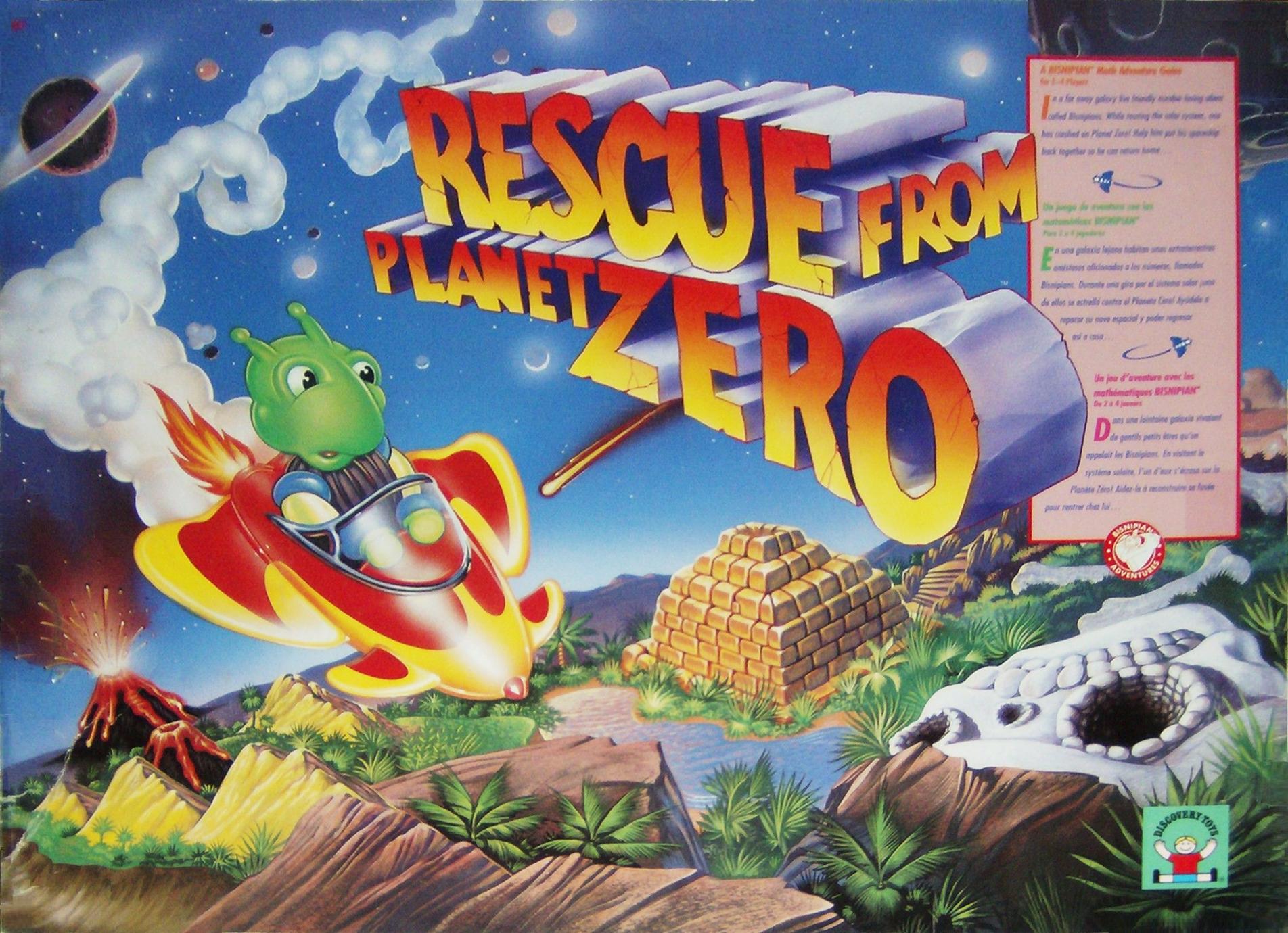 Rescue From Planet Zero
