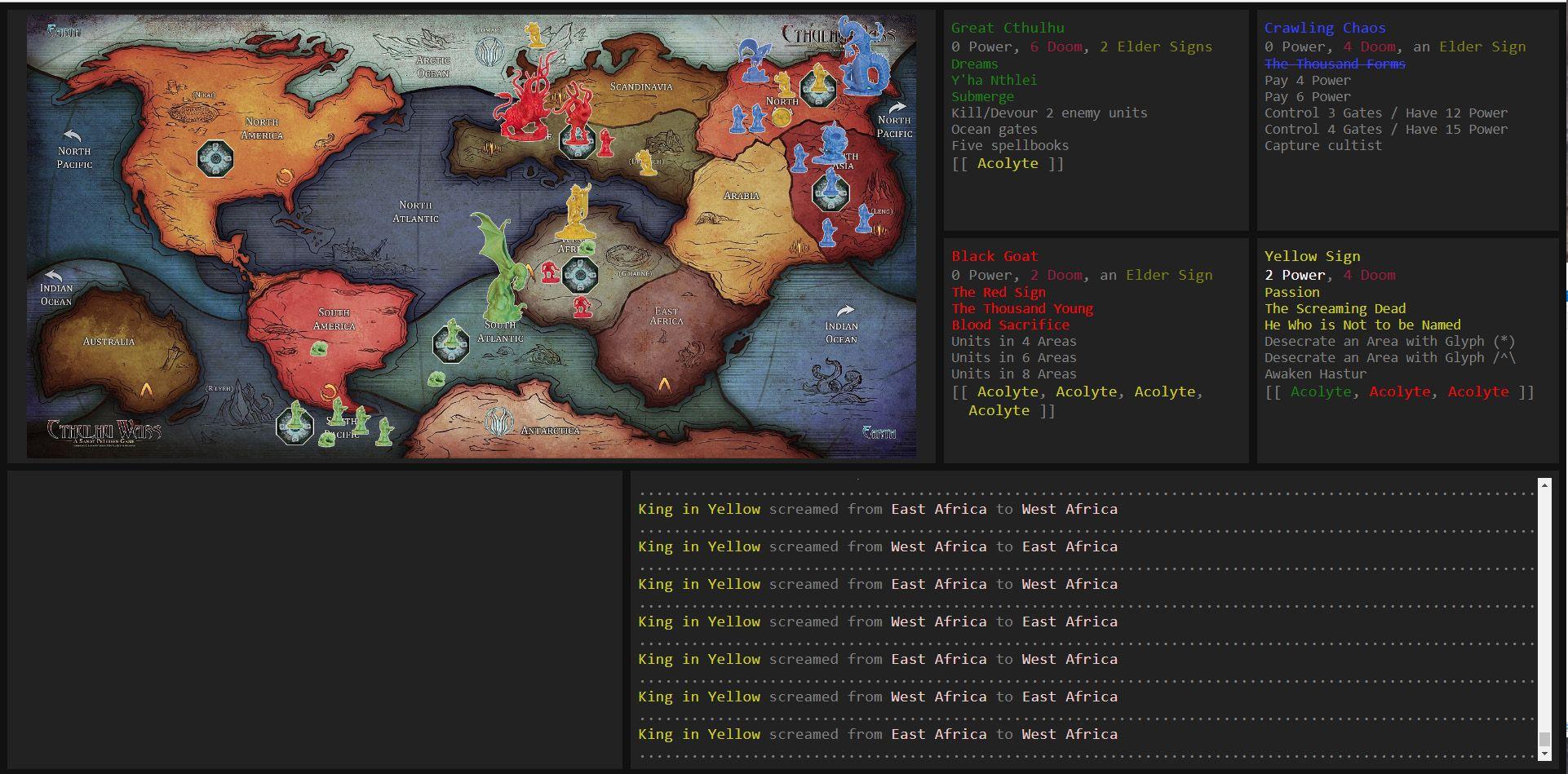 Cthulhu Wars Solo HRF 1 3 | Cthulhu Wars | BoardGameGeek
