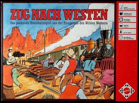 Zug nach Westen