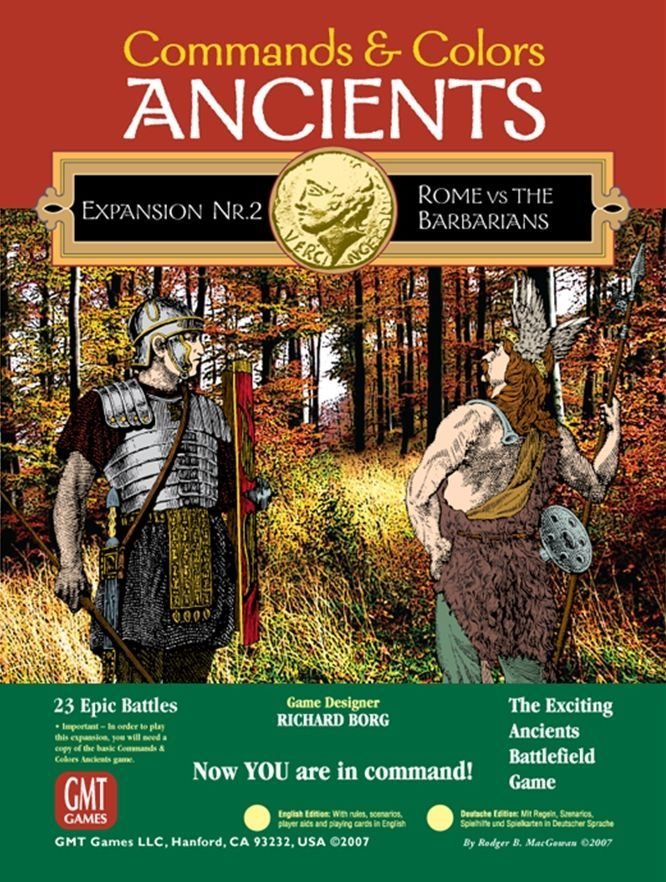 Commands & Colors: Ancients Expansion Pack #2 – Rome and the Barbarians