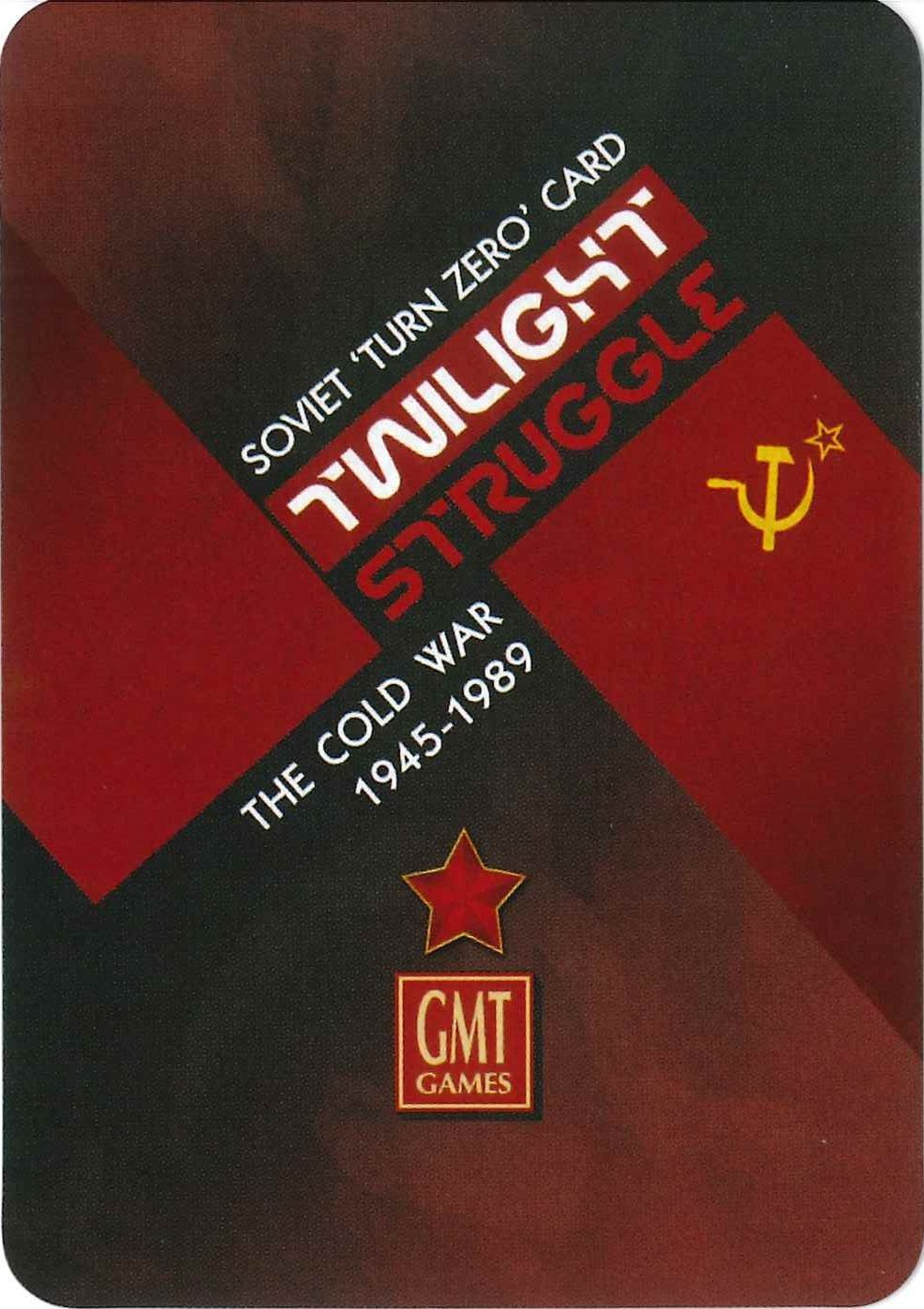 Twilight Struggle: Turn Zero