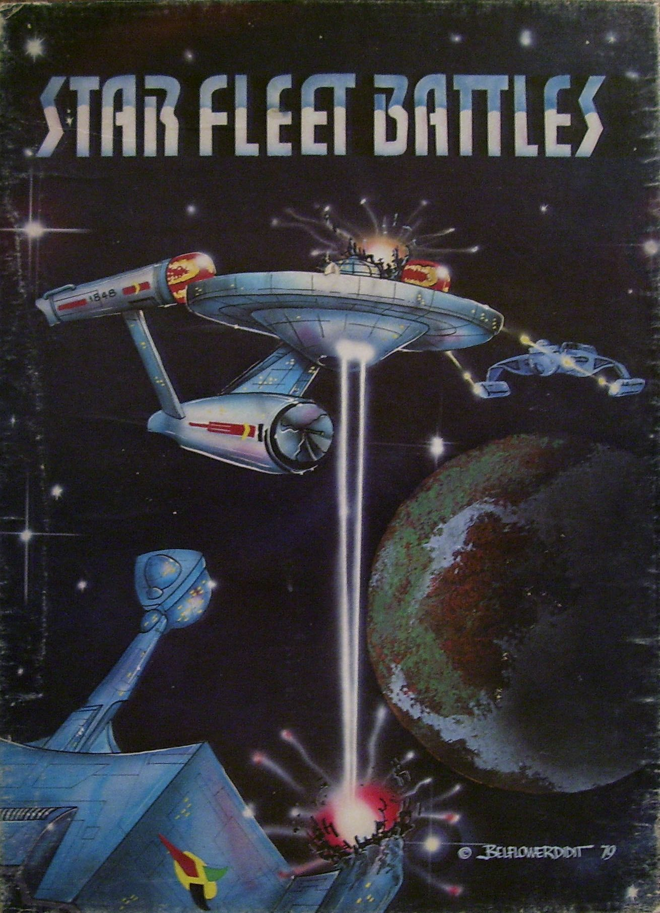 Star Fleet Battles (Designer's Edition)