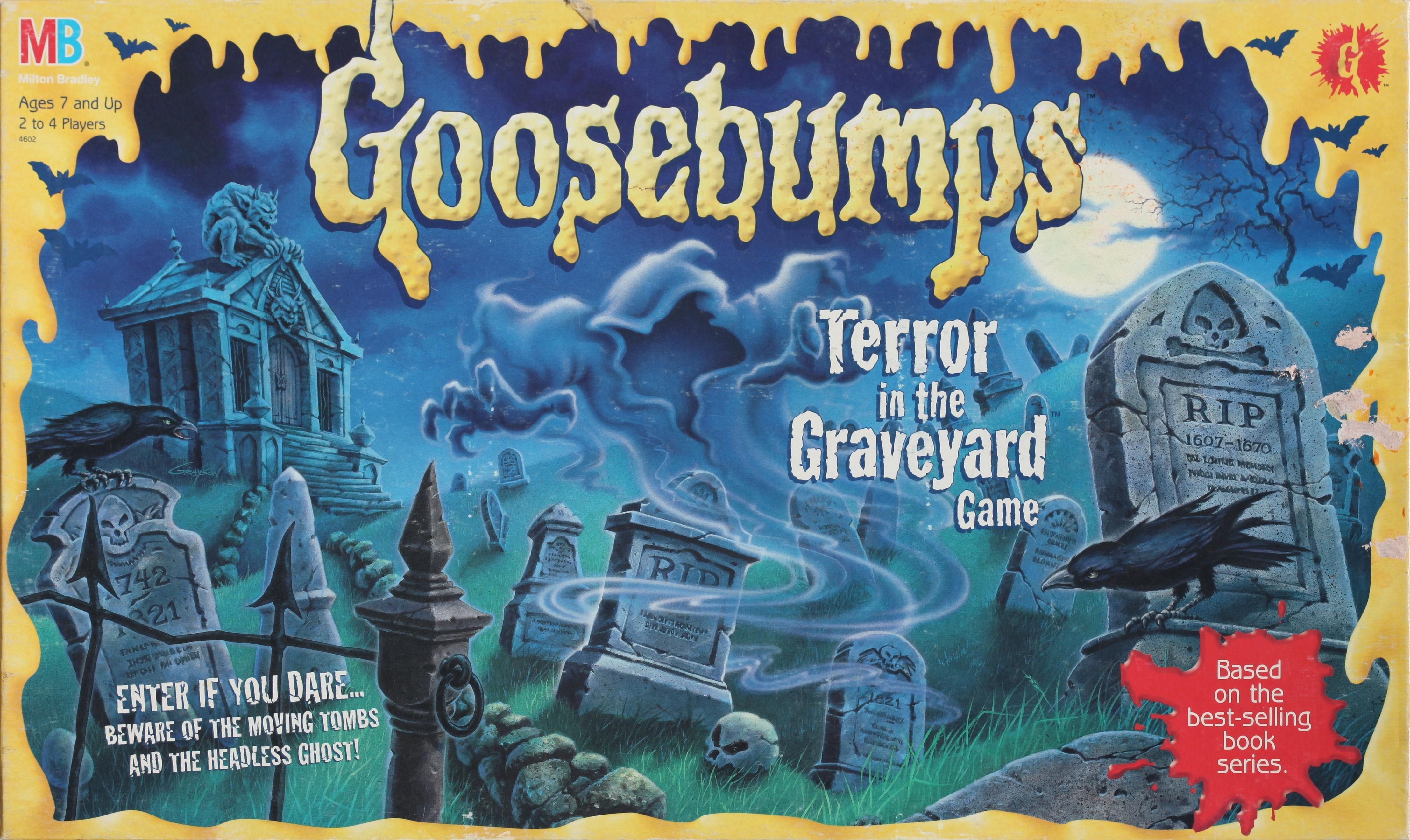Goosebumps: Terror in the Graveyard Game