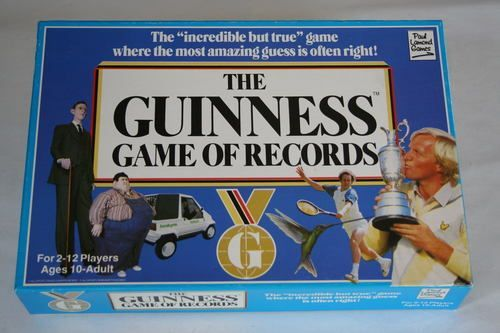 The Guinness Game of Records