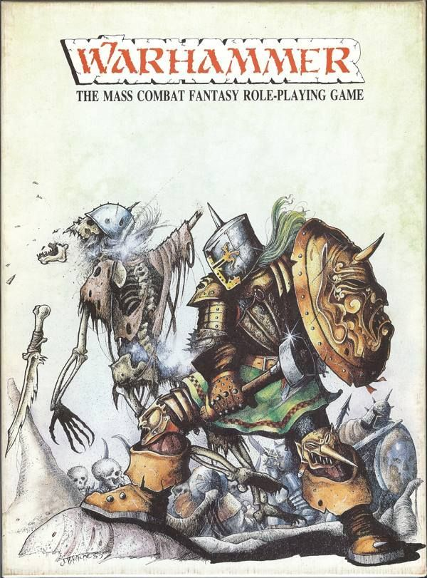 Main image for Warhammer: The Mass Combat Fantasy Roleplaying Game (1st Edition)