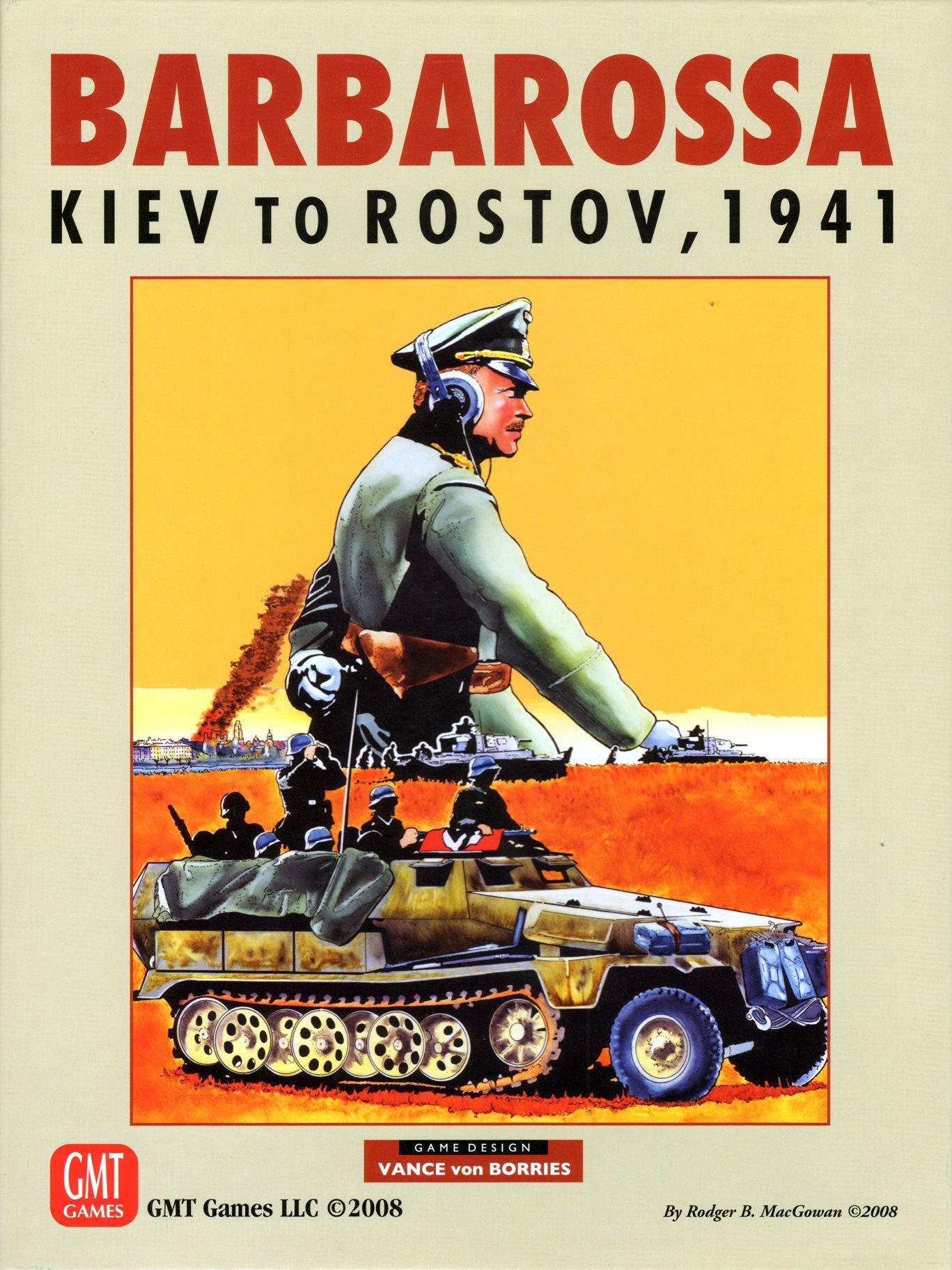 Barbarossa: Kiev to Rostov, 1941