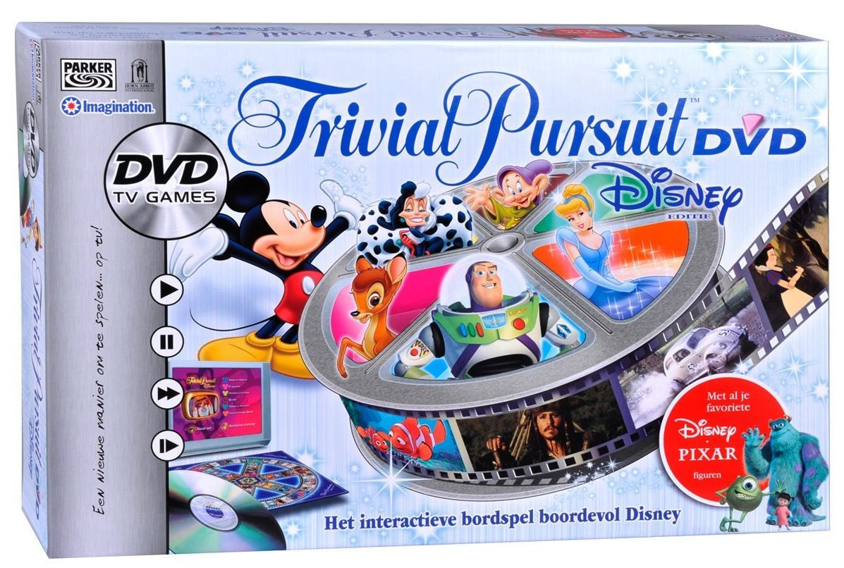 Trivial Pursuit DVD Disney Edition