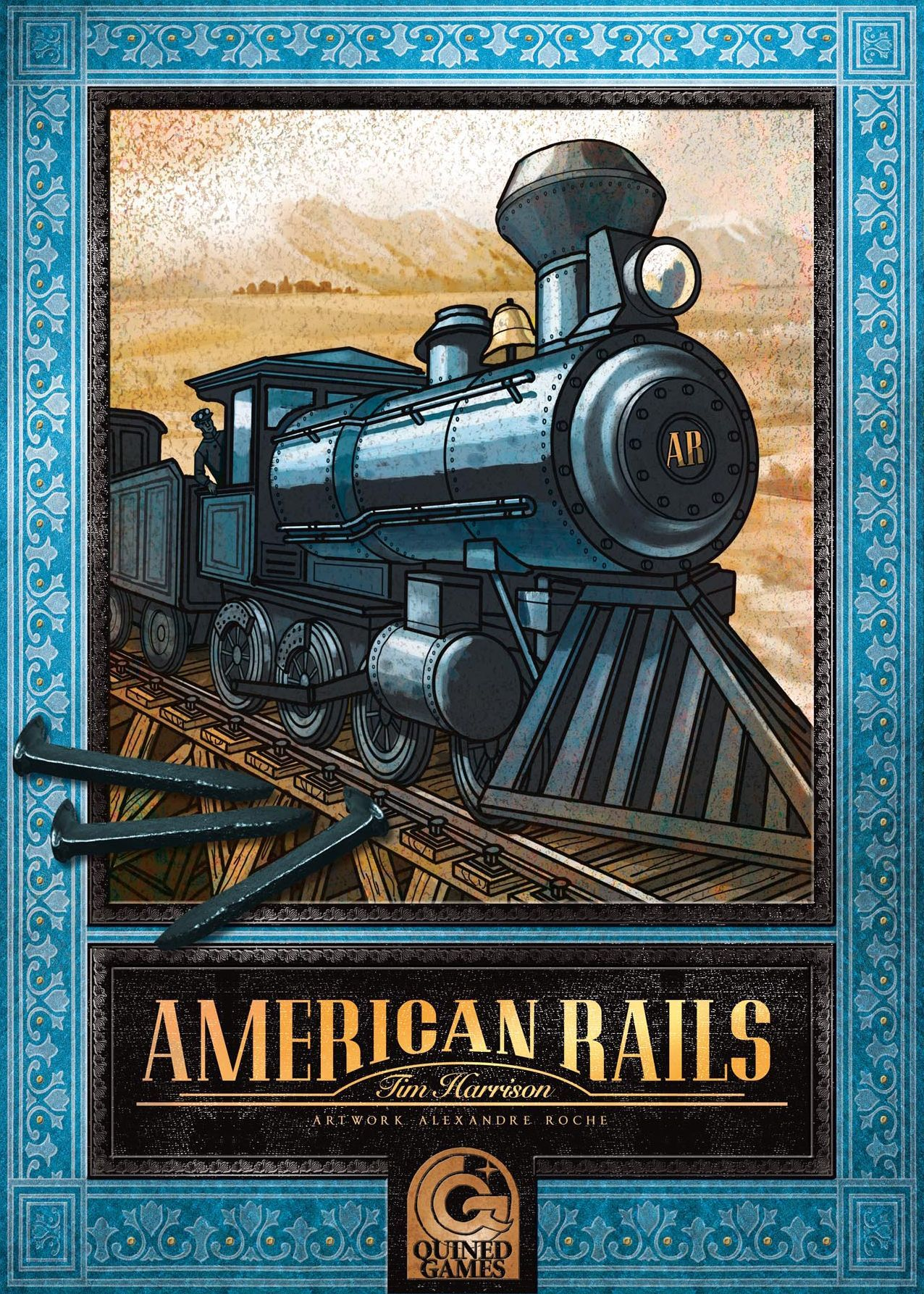 Main image for American Rails board game