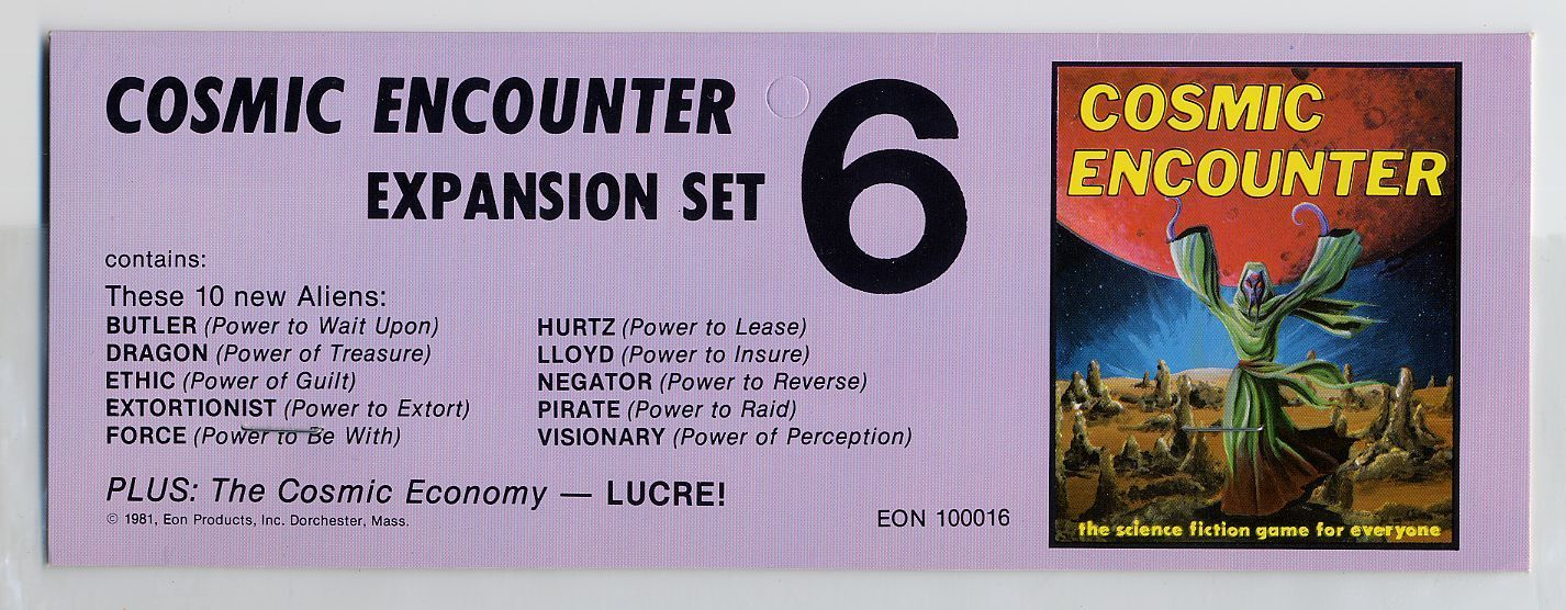 Cosmic Encounter: Expansion Set #6