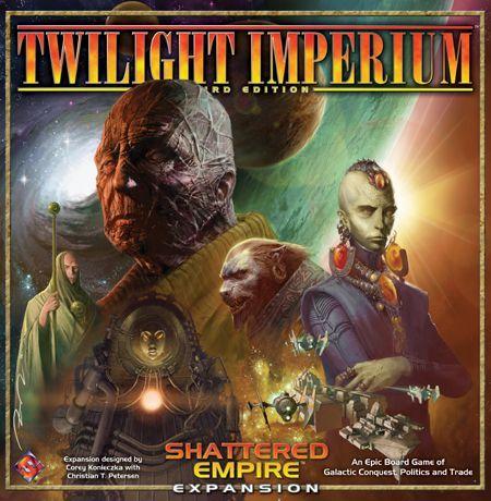 Twilight Imperium (Third Edition): Shattered Empire