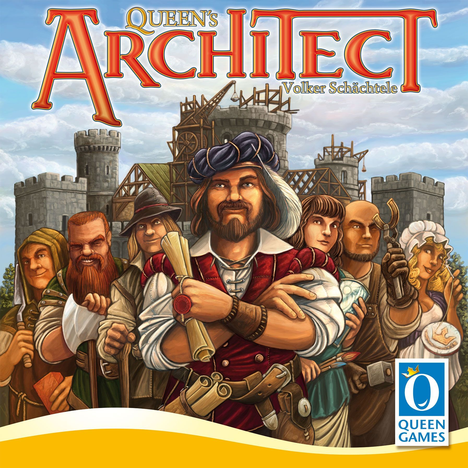 Queen's Architect Cover