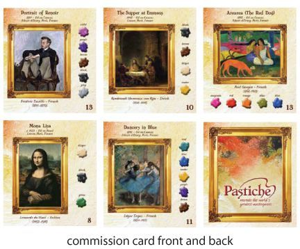Board Game: Pastiche