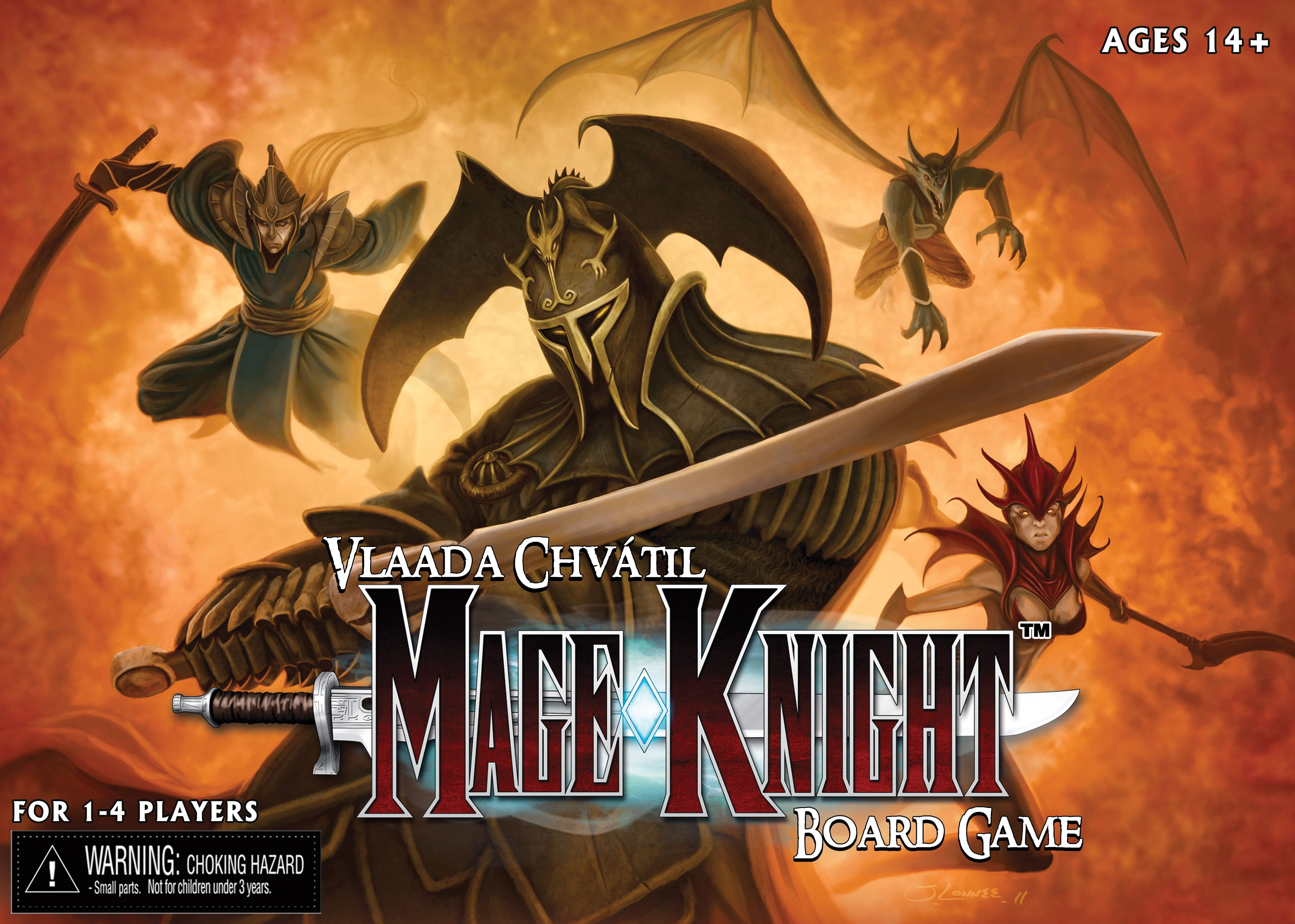 Mage Knight Board Game Cover