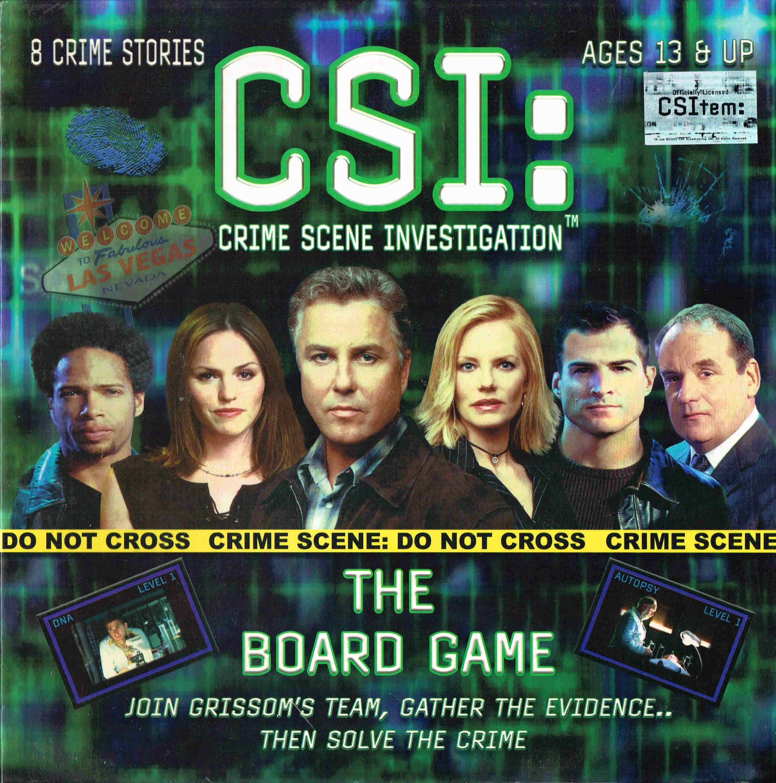 CSI: Crime Scene Investigation – The Board Game