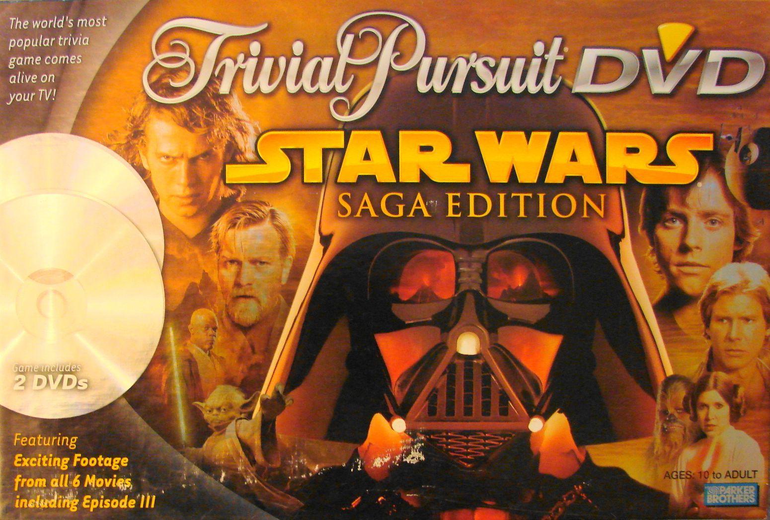 Trivial Pursuit DVD: Star Wars Saga Edition