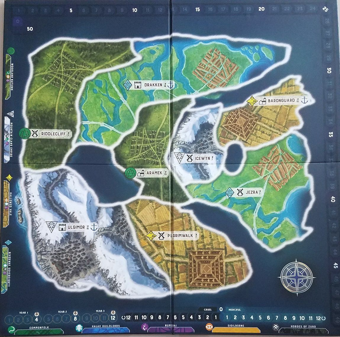 PbF Resource: 2 Player starting board | Path of Light and Shadow